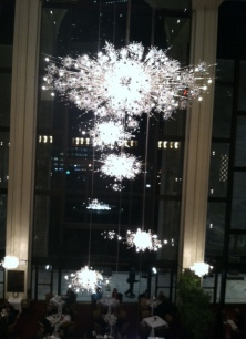 Chandelier in the Lobby.  Huge and beautiful.
