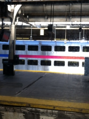 Double Decker NJ Transit Train (I opted for the top level)