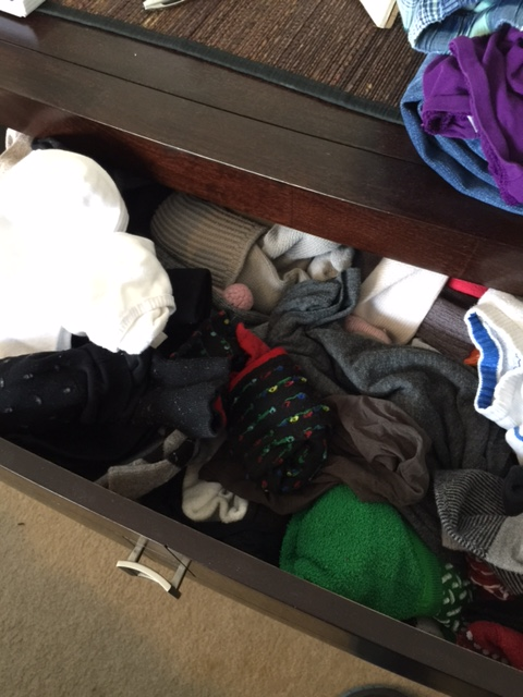 The Original Sock Drawer: A Metaphor for My Life ?